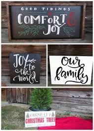 diy christmas themed winter wooden signs diy christmas winter