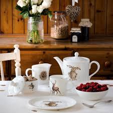 good hare day china mug wrendale designs fox and lantern
