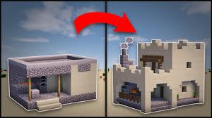 How To Remodel A House by Minecraft How To Remodel A Desert Village Blacksmith Youtube