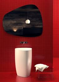 Black And White Modern Bathroom by Red Black And White Modern Bathroom Collection By Claudia Danelon