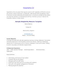 Resume Template Hospitality Hospitality Resume Sle 28 Images Resume Objective Exles
