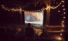 Backyard Movie Theatre by Backyard Movie Theater Party Outdoor Furniture Design And Ideas