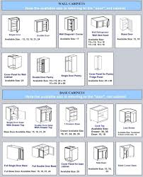 Kitchen Wall Cabinets Sizes Some Important Things To Notice Before Deciding The Kitchen Yeo Lab