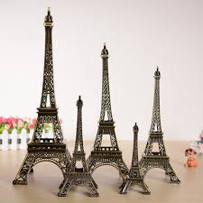 vintage bronze alloy eiffel tower model metal crafts 1pc ebay