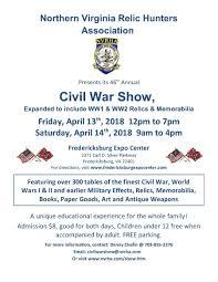 Fredericksburg Va Map Nvrha Annual Civil War Show