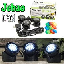 best submersible pond lights best price on jebao submersible led pond light with photcell sensor