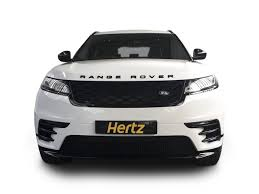 range rover velar white range rover velar prestige car to hire hertz dream collection