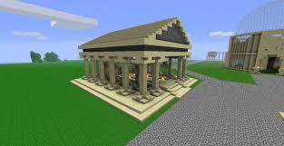 greek temple floor plan greek temple small minecraft project