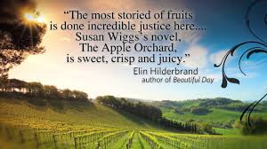 susanwiggs announcing the apple orchard the motion picture