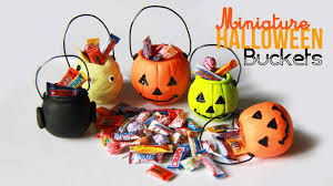 Mini Halloween Cakes by Halloween Bucket Charms Miniature Candy With Polymer Clay Youtube