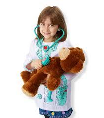 melissa u0026 doug doctor role play costume set joann