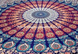 Tapestry On Bedroom Wall Amazon Com Large Buddhist Mandala Tapestry Hippie Hippy Wall