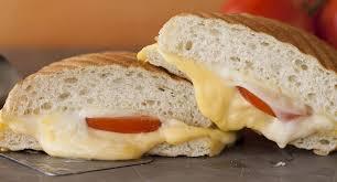 Gourmet Grilled Cheese Sandwich Ciabatta Bread