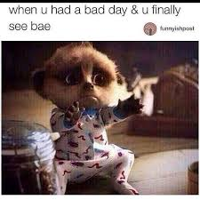 Bad Day At Work Meme - bad day need bae on we heart it