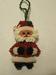 amazon com guatemalan handmade beaded christmas tree ornament