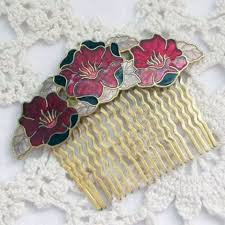 antique hair combs vintage hair accessories of slides tiaras and hairbands