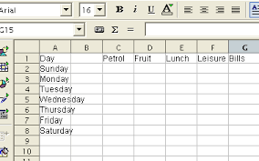 How To A Simple Spreadsheet Tutorials For Openoffice Simple Expenditure Spreadsheet Tutorial