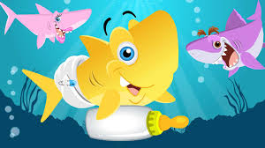 baby shark song animal songs by little angel youtube