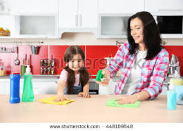 Cleaning Table Stock Images Royalty by Family Chores Stock Images Royalty Free Images U0026 Vectors