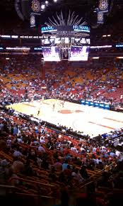 american airlines arena section 115 row 33 seat 14 miami heat