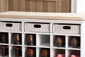 bench sensational southern enterprises entryway storage rack