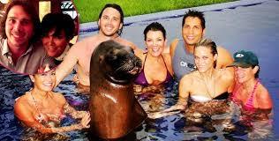 Kris Jenner Backyard Peta Blasts Kris Jenner U0027a Sea Lion Is Not A Pool Toy U0027 Radar