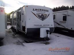new 2012 prime time manufacturing lacrosse 318bhs travel trailer