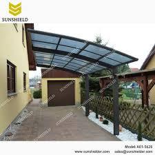 Car Port Roof Polycarbonate Carport Arched Roof Car Parking Shed Sunshield