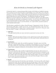 formal lab report template economics essays costa coffee uk and sales techniques how to