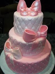 baby showers cakes baby shower bows cakes