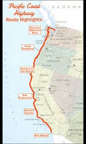 map us route 1 u s route 101 from portland to san francisco is one of the most