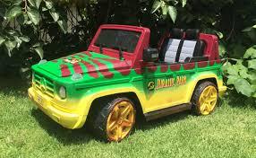 jurassic park tour car kids jeep jurassic park safari car