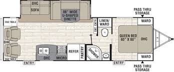 two bedroom rv floor plans inspirations also jay flight travel two