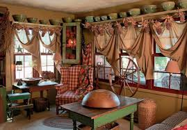 Country Living Home Decor Cool Earlier American House And Home Decorating Ideas Primitive