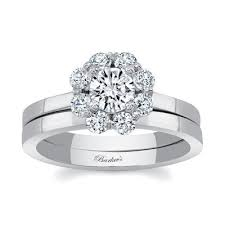 white gold bridal sets barkev s white gold bridal set 8054s barkev s