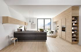 cuisine blanc laqué et bois cuisine blanc laqué et bois