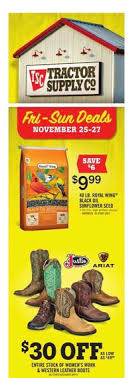 tractor supply black friday 2016 ad scan