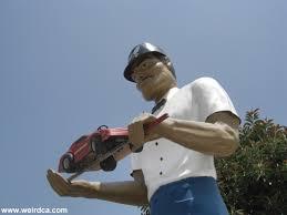 Second Hand Cars Los Angeles Muffler Men Weird California