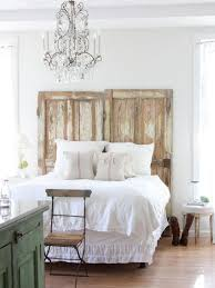 How To Decorate A Side Table by Shabby Chic White Nightstand Aside Rustic Recycle Headboard With