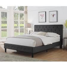 instant home cloe upholstered platform bed u0026 reviews wayfair