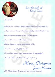 letters from santa free letter from santa sles