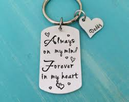 in memory of keychains memory keychains etsy