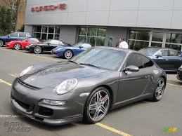 porsche slate gray metallic 2007 porsche 911 carrera 4s coupe in slate grey metallic 732402