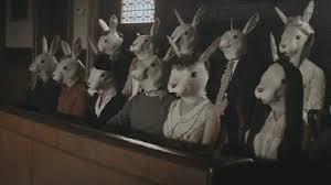 Gif List Rabbit Jury Thumbs Down Giflist Pinterest Kangaroo Court