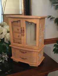 Shabby Chic Jewelry Armoire by Wholesale Interiors Baxton Studio Bimini Jewelry Armoire With