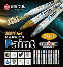 Awesome Condition Toyo White Letter Tires 1pcs 100 Authentic Toyo Color Marker Waterproof Permanent Marker