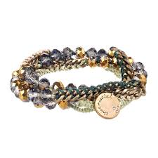 wrap bracelet with beads images Bead chain multi wrap bracelet chloe isabel jpg