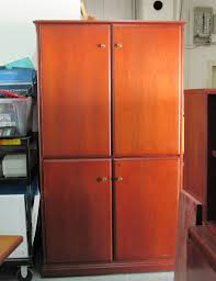 geiger lateral file cabinet 30 inch cherry plano used office