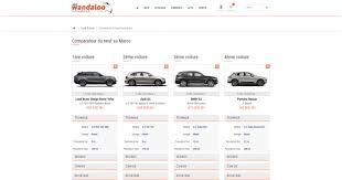 si e voiture ergonomique refonte de wandaloo com consonews premier site conso au maroc