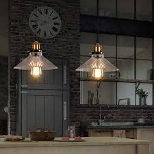 Rustic Kitchen Lighting Glass Pendant Light For Home Black Colorful Pendant Lights Dinning
